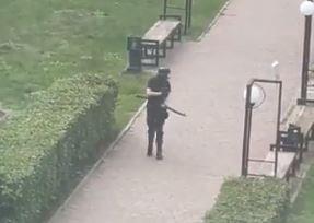Atirador mata alunos em universidade na Rússia