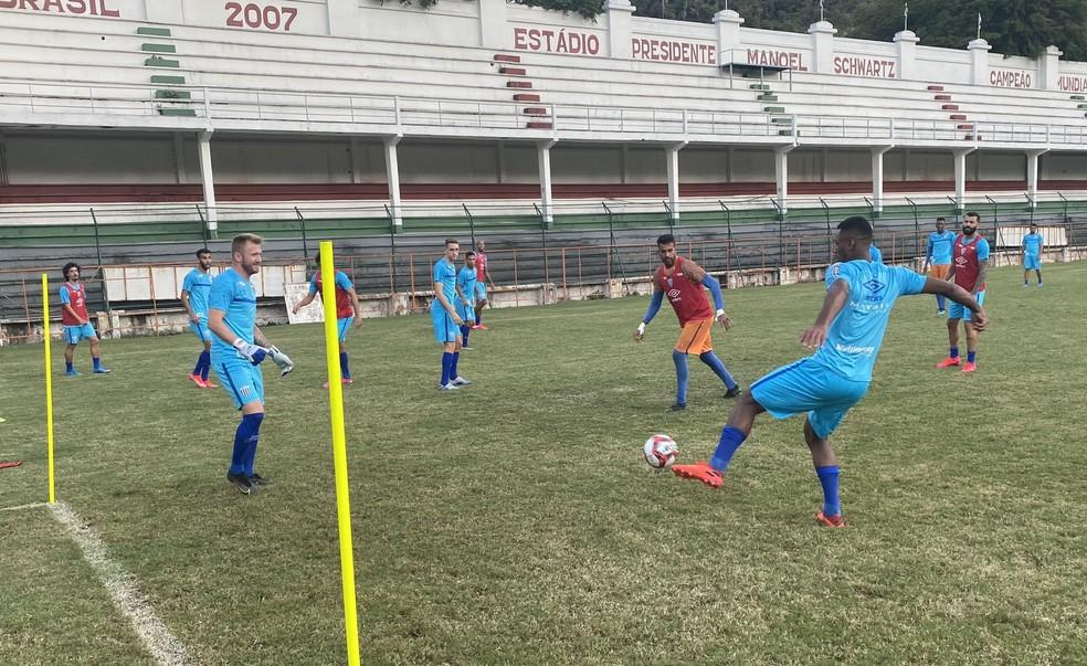 Avaí finalizou a preparação para o jogo nas Laranjeiras