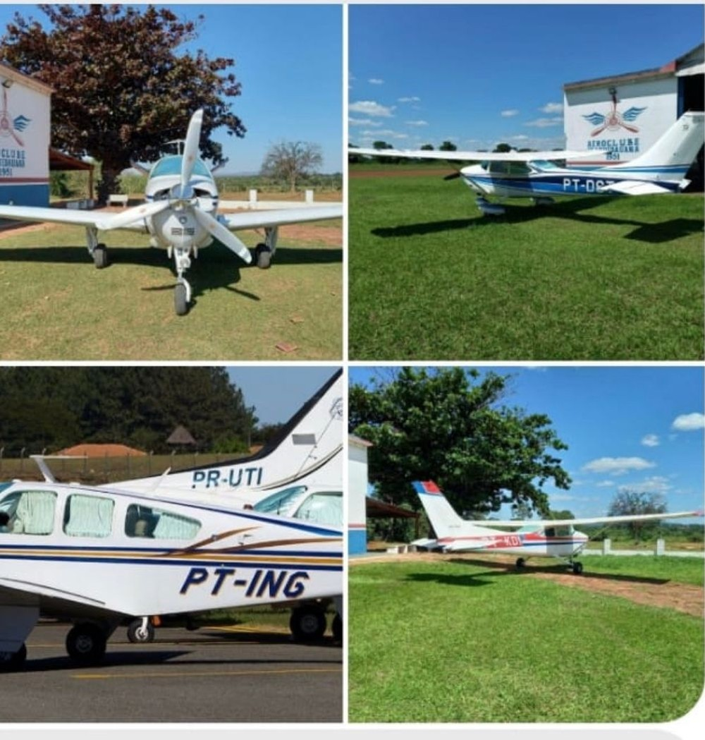 Aviões roubados - Foto Divulgação Polícia Civil