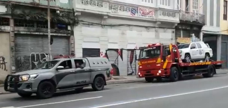 PM do Rio envia equipamentos para ajudar na captura de Lázaro