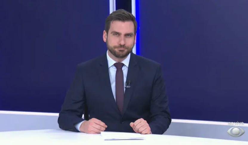 Douglas Santucci é o atual âncora do Band Notícias: jornal será trocado por Faustão