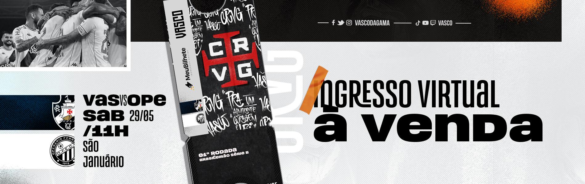 Banner campanha venda ingressos virtuais para o Brasileiro Série B