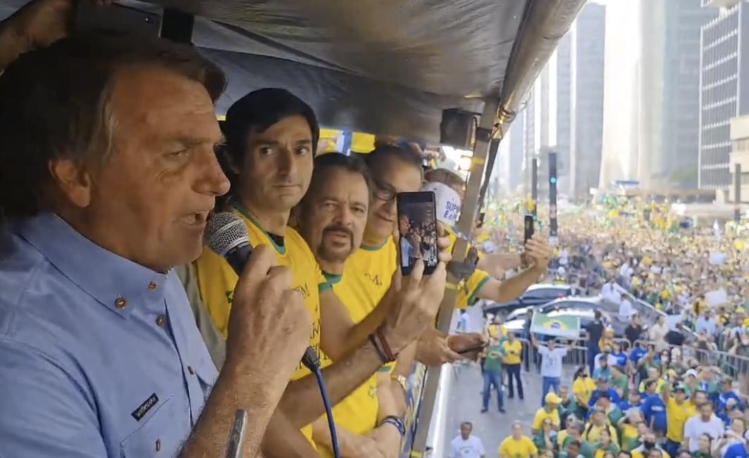 Bolsonaro na Paulista