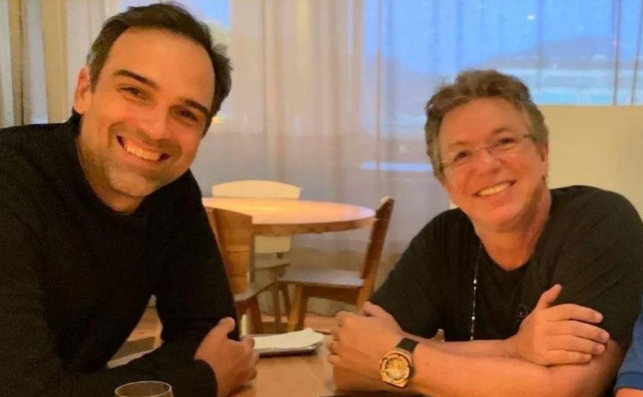 Boninho e Tadeu Schmidt
