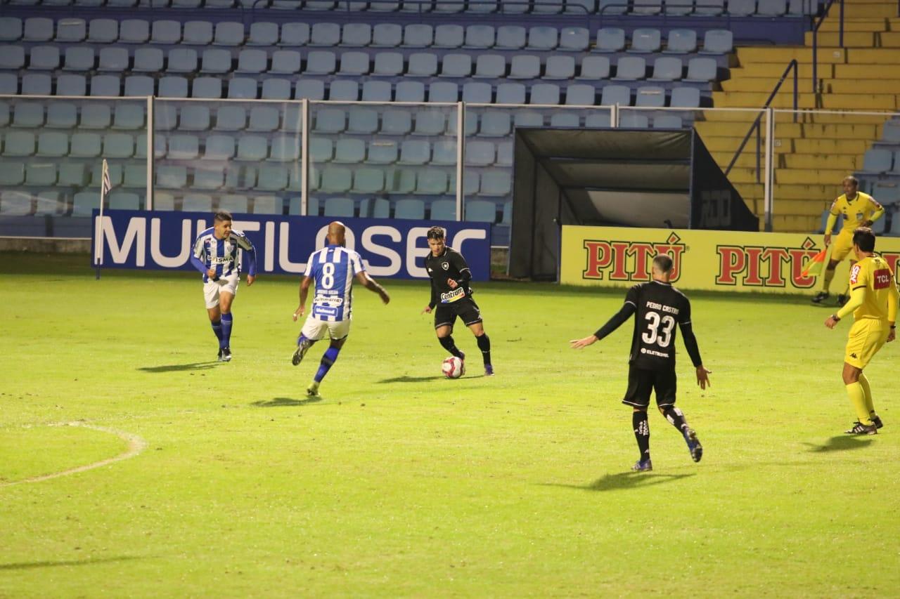 Avaí e Botafogo duelaram neste sábado pela Série B