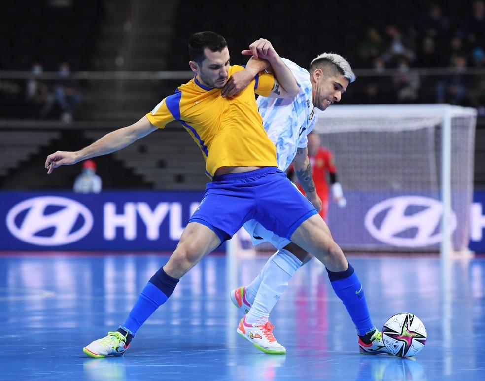 Brasil perde para a Argentina na Copa do Mundo de Futsal