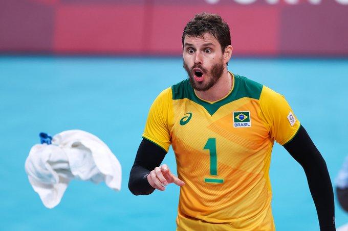 Bruninho não jogou bem na semifinal dos Jogos