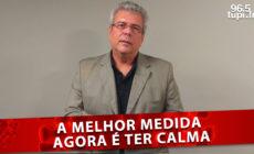 'Calma para voltar à vida normal', alerta Francisco Barbosa