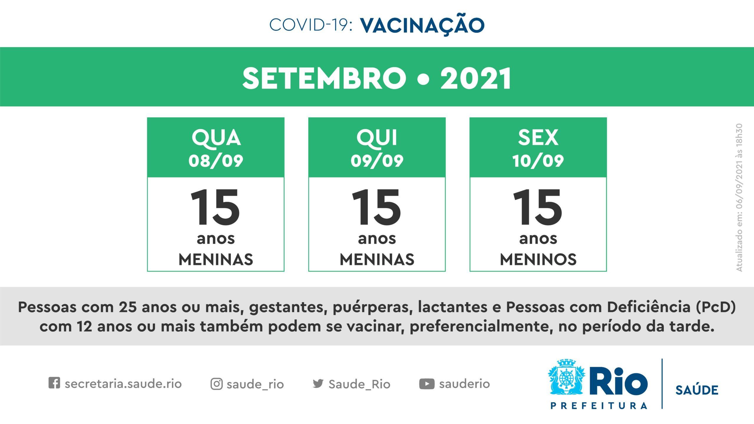 Novo calendário de vacinação contra Covid para adolescentes