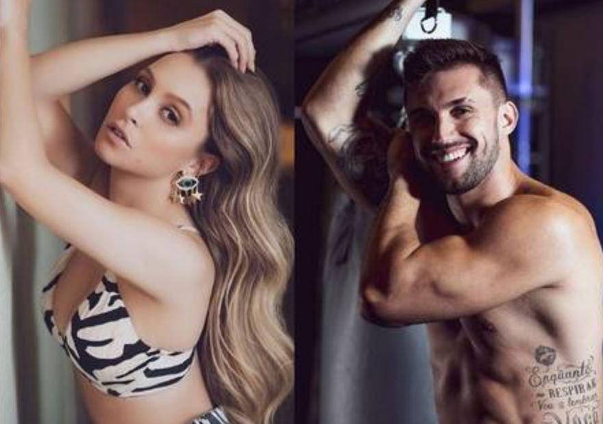 Carla Diaz e o ex-BBB Arthur Picolli