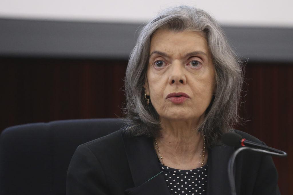 Imagem da ministra Carmem Lúcia