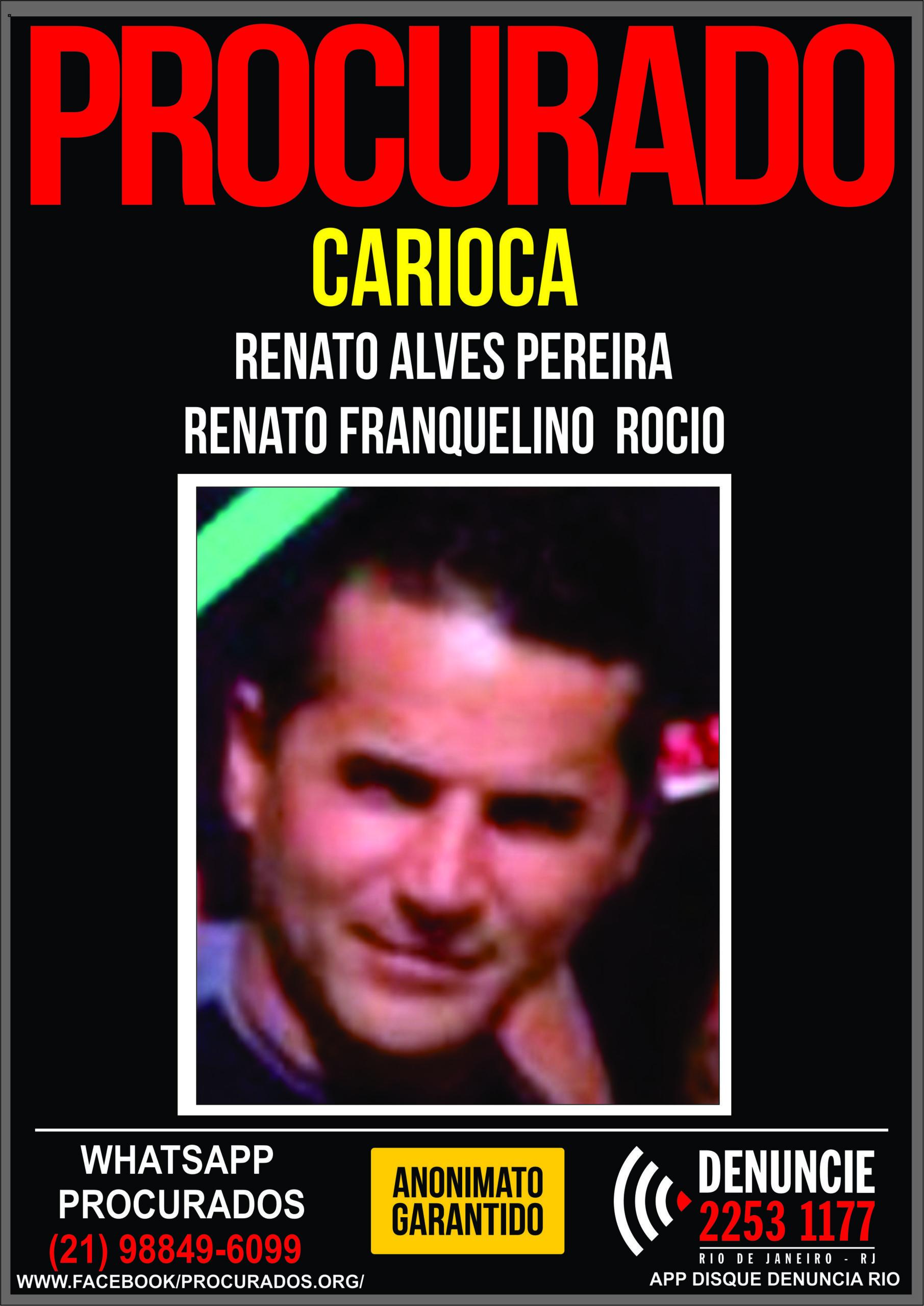 Cartaz traficante carioca