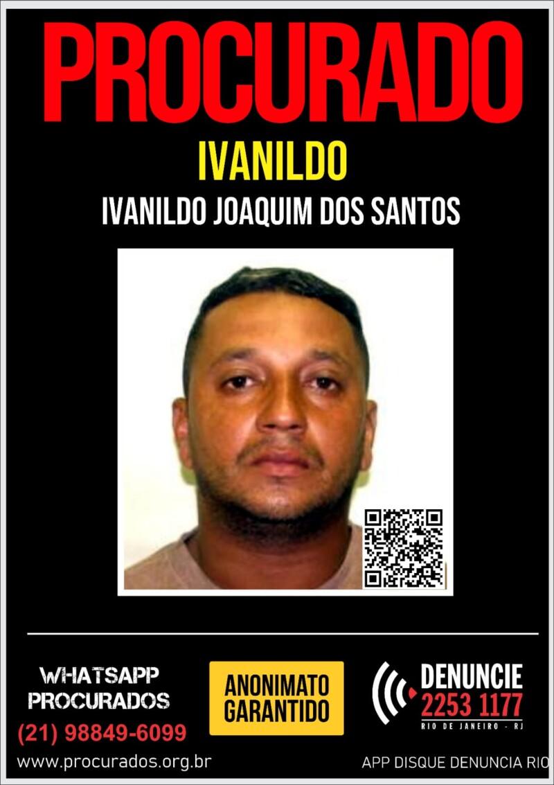 cartaz com foto do procurado