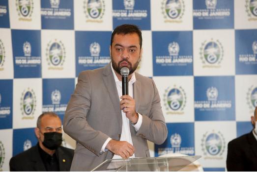 Imagem do Governador Cláudio Castro