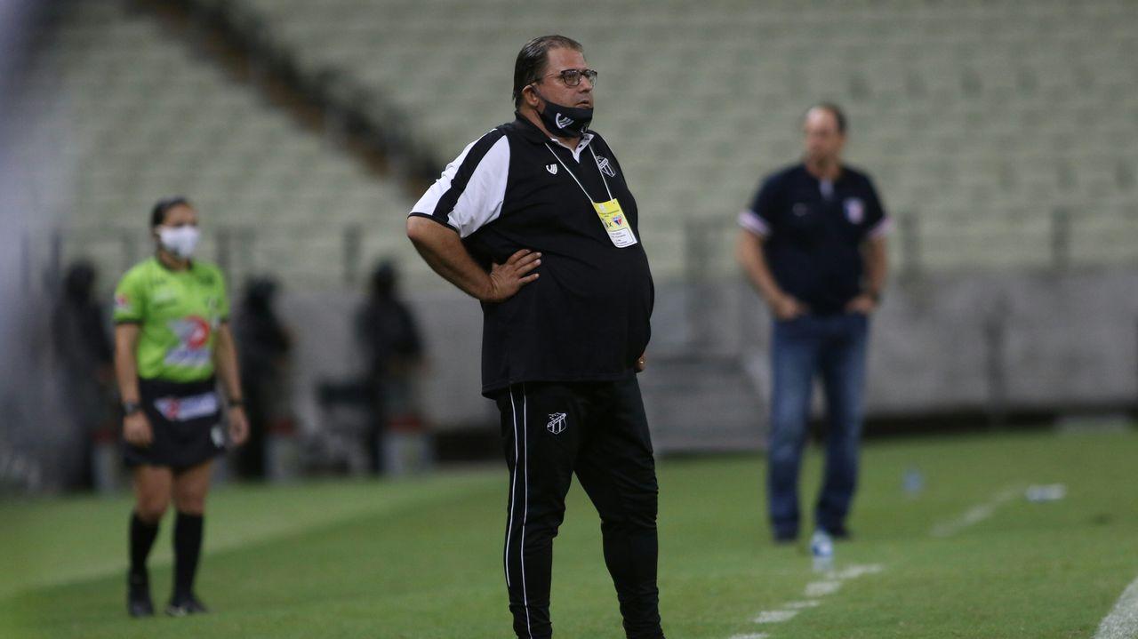 Técnico do Ceará, Guto Ferreira pode mudar escalação para pegar o Flamengo pelo Campeonato Brasileiro