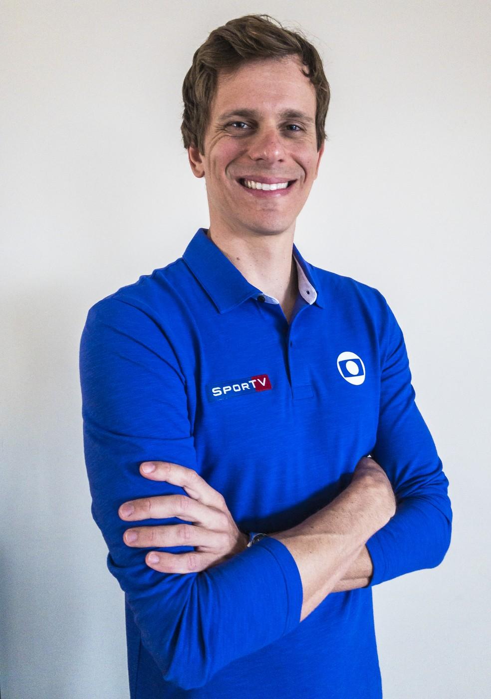 Cesar Cielo é contrato como novo comentarista do Grupo Globo para as Olimpíadas