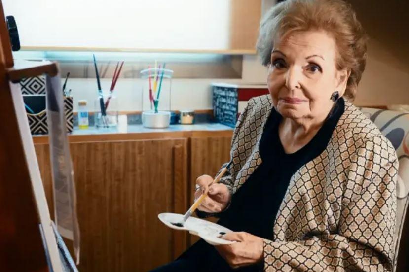 Cordélia Silva, mãe do apresentador Fausto Silva