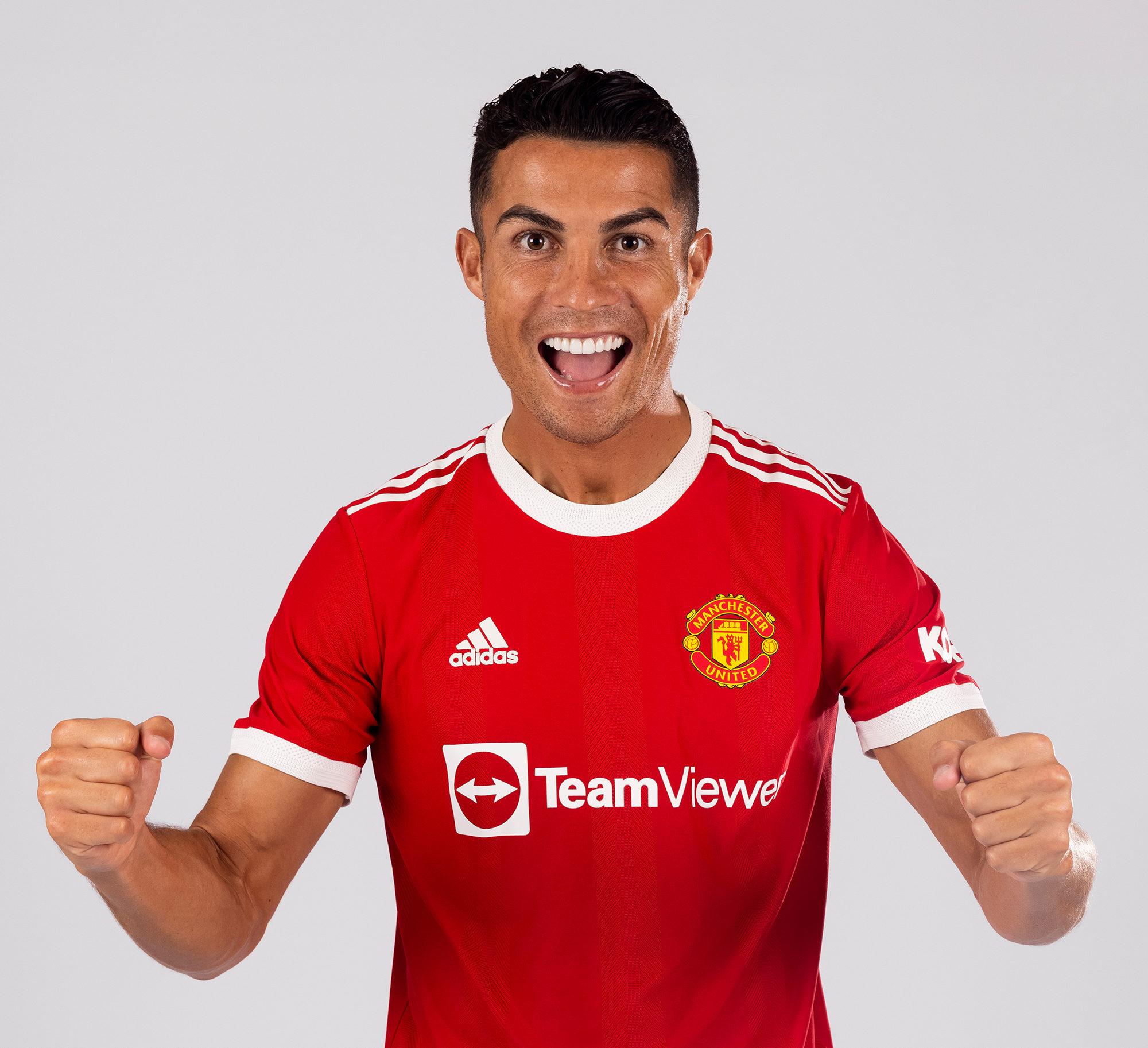 Cristiano Ronaldo usará a camisa 7 no Manchester United