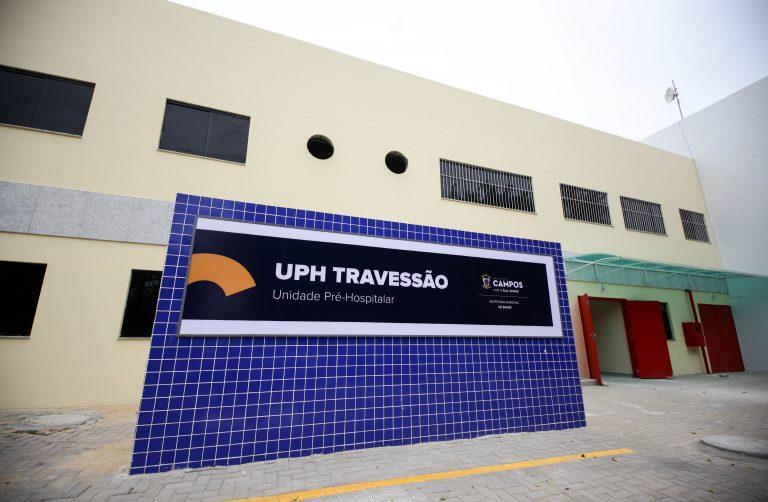 Imagem da fachada do hospital