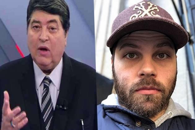 José Luiz Datena e o filho, José Luiz Datena Júnior