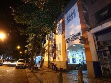 Imagem da delegacia de copacabana.