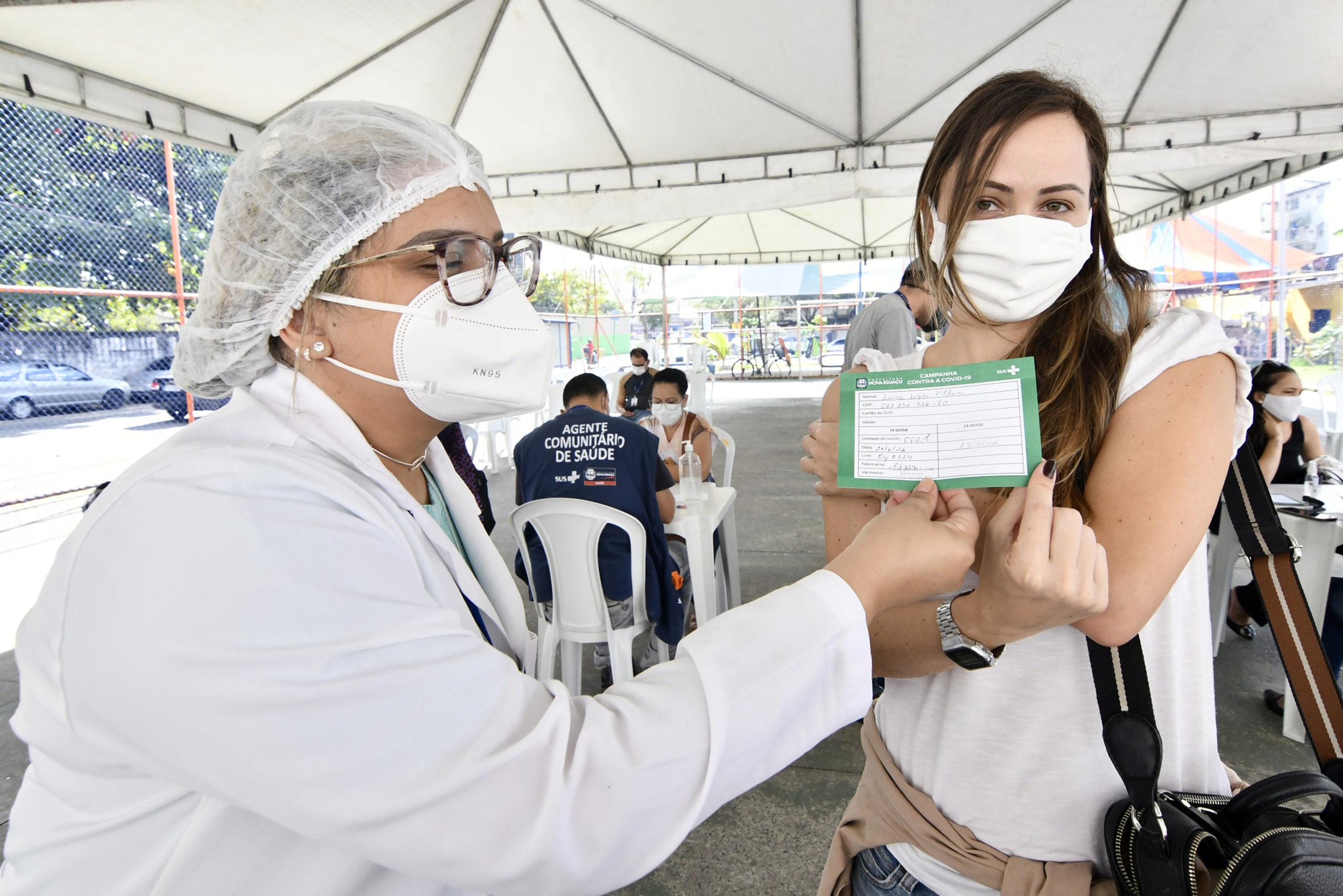 Vacinação em Nova Iguaçu