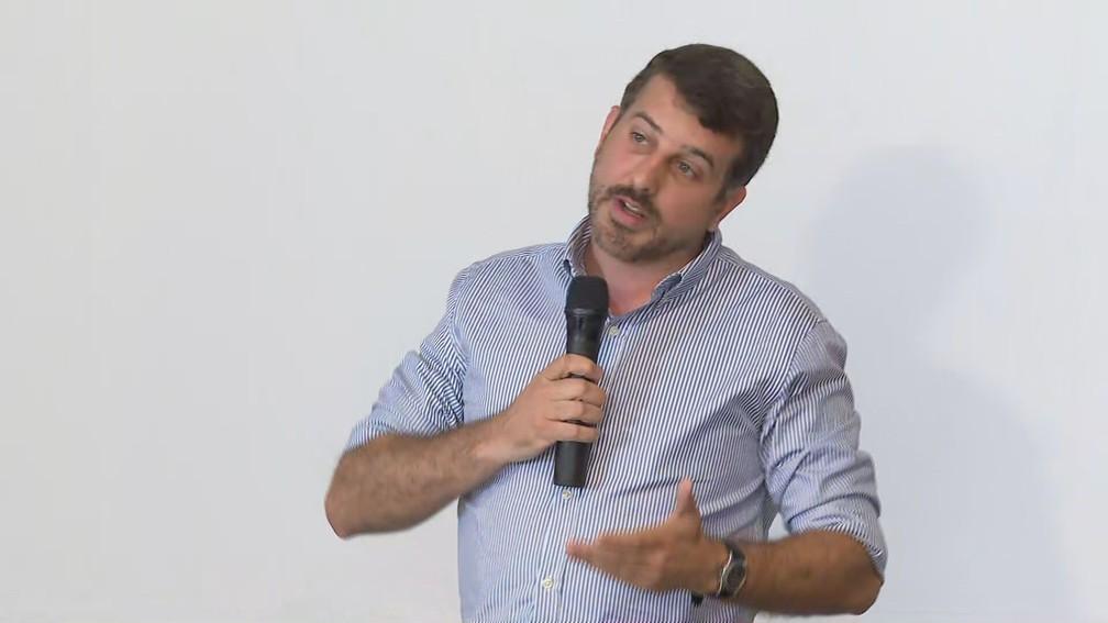 Daniel Soranz discursando