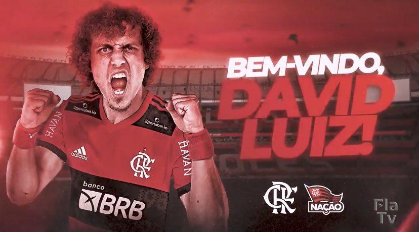 David Luiz é o novo reforço do Flamengo