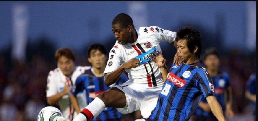 Diogo atuou pelo Flamengo em 2004