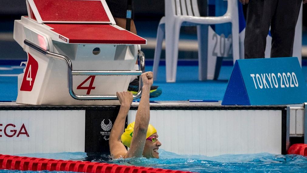 Maria Carolina Santiago conquista o terceiro ouro em Tóquio