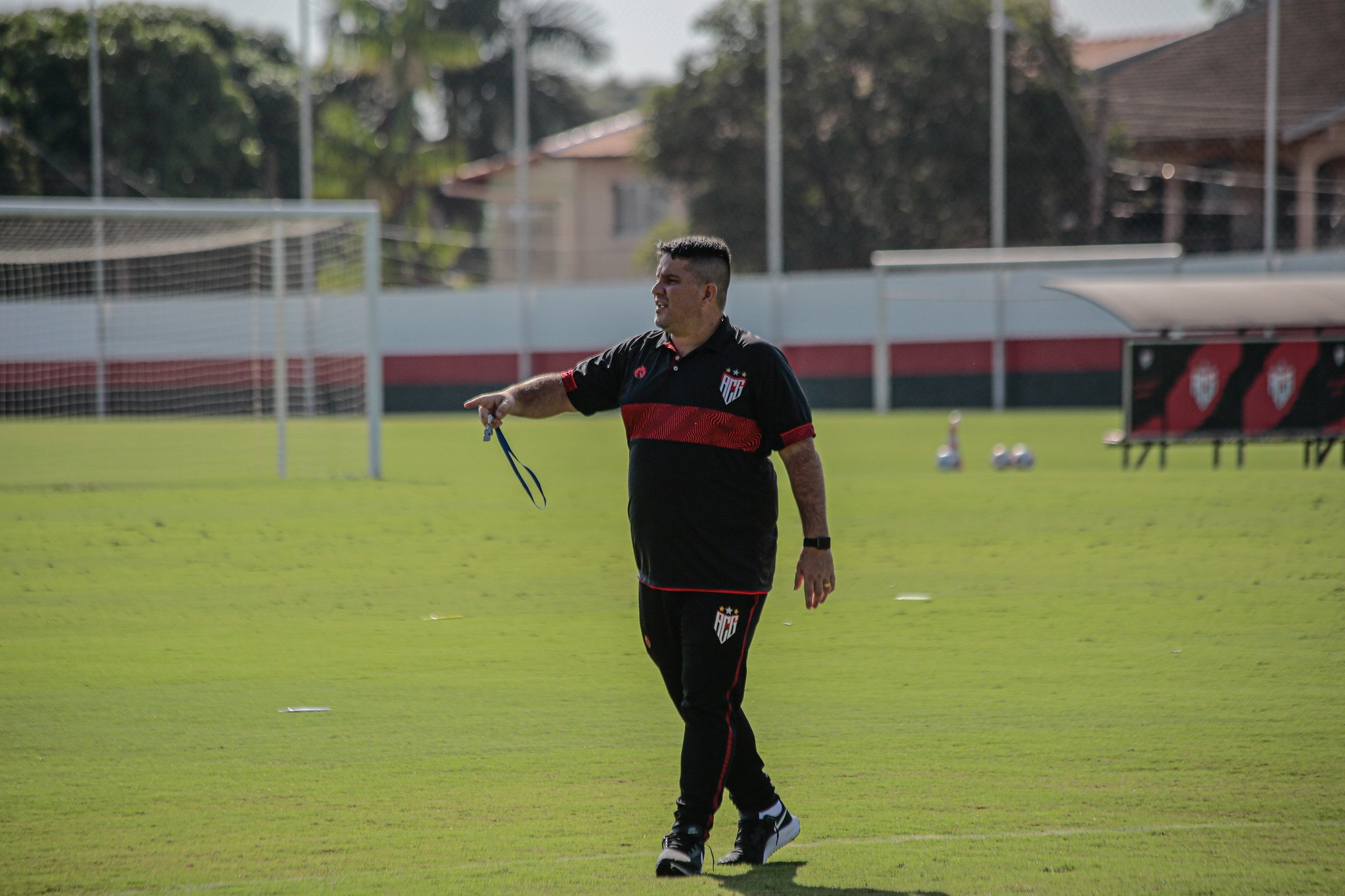 Eduardo Barroca treinando