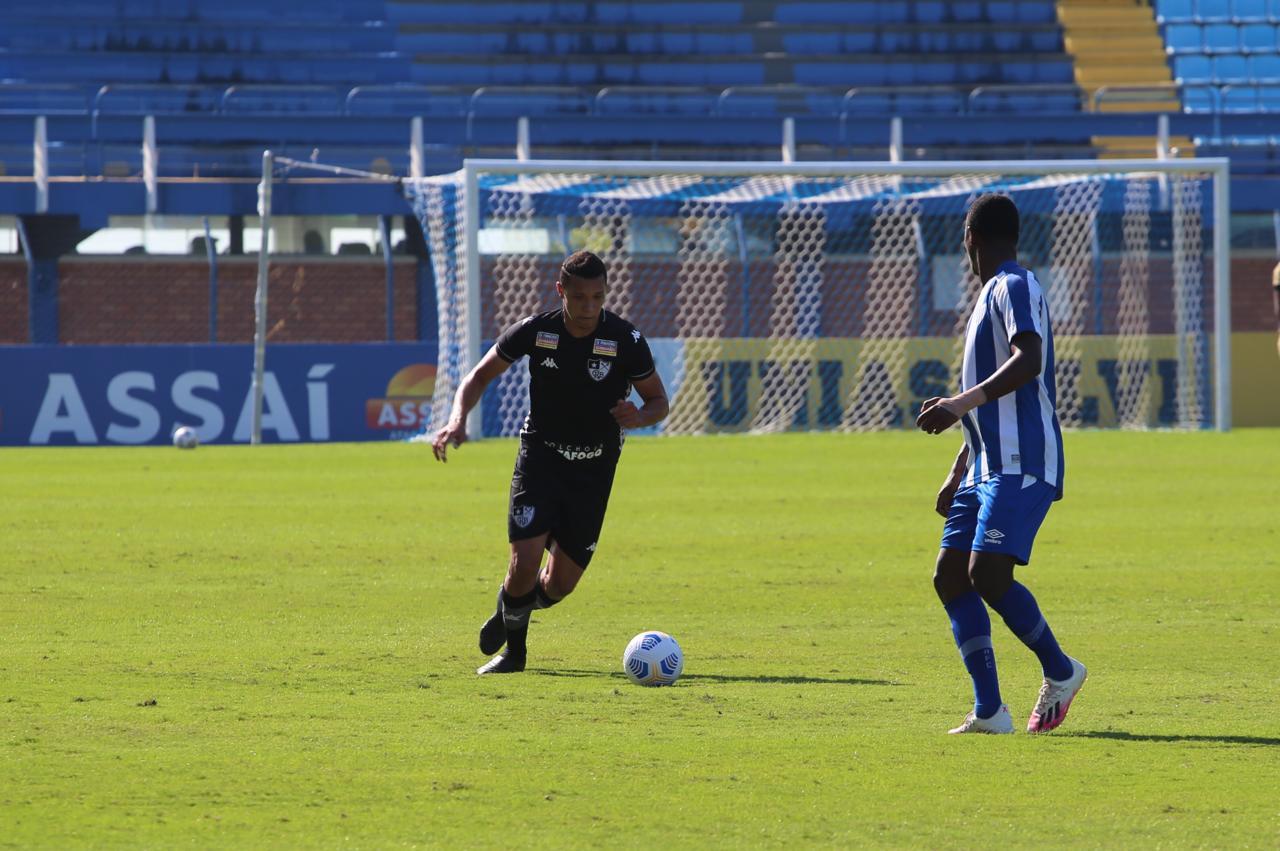 Botafogo em ação contra o Avaí pela Copa do Brasil Sub-20