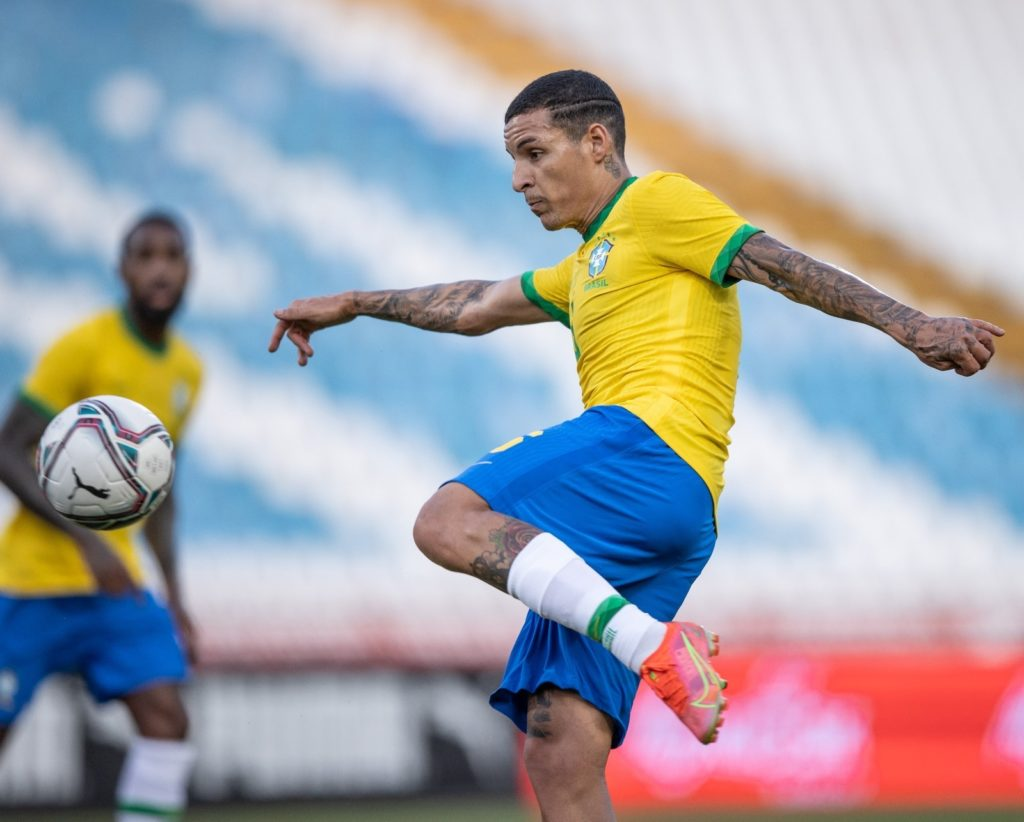 Guilherme Arana em ação pela Seleção Olímpica