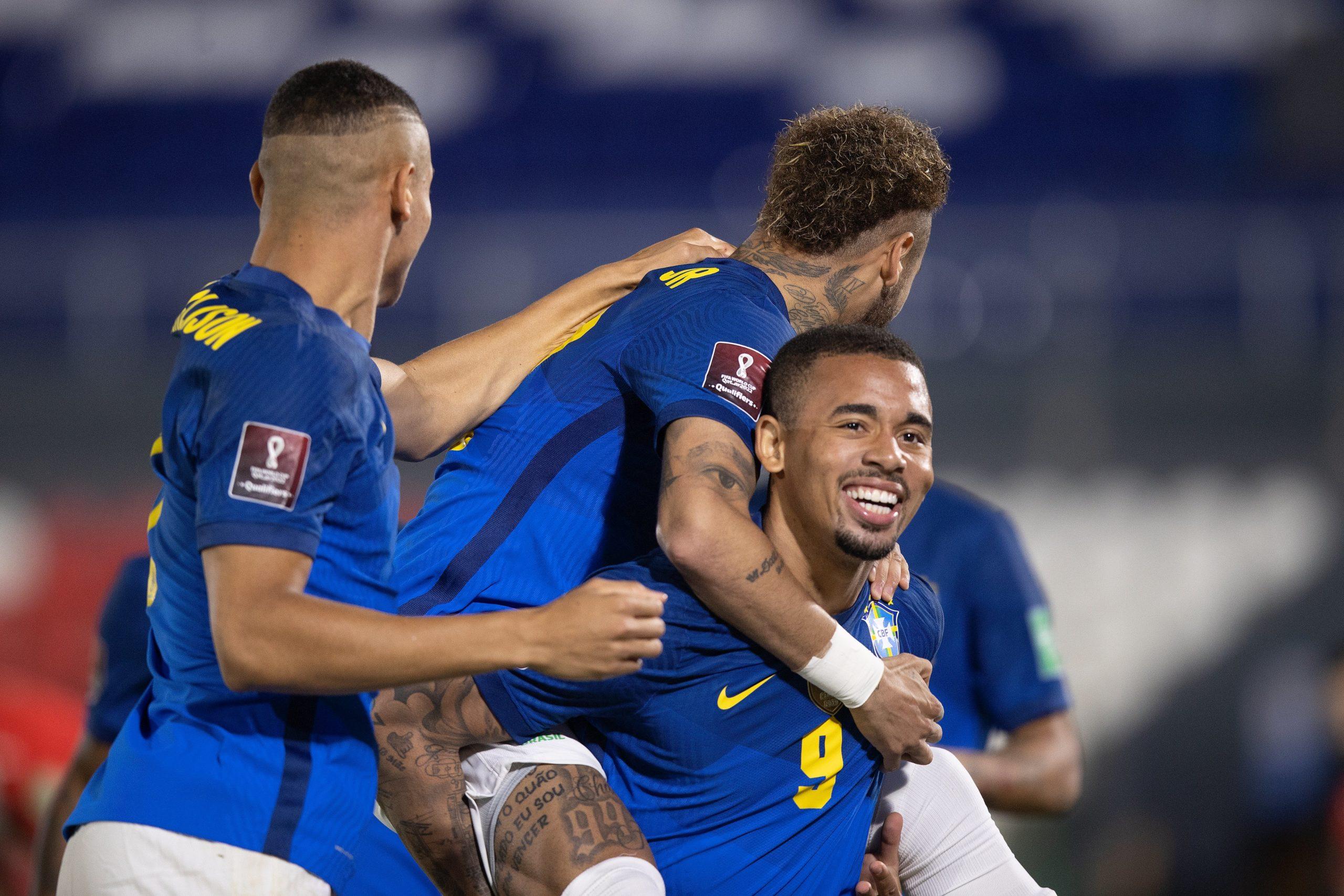 Ataque da seleção brasileira