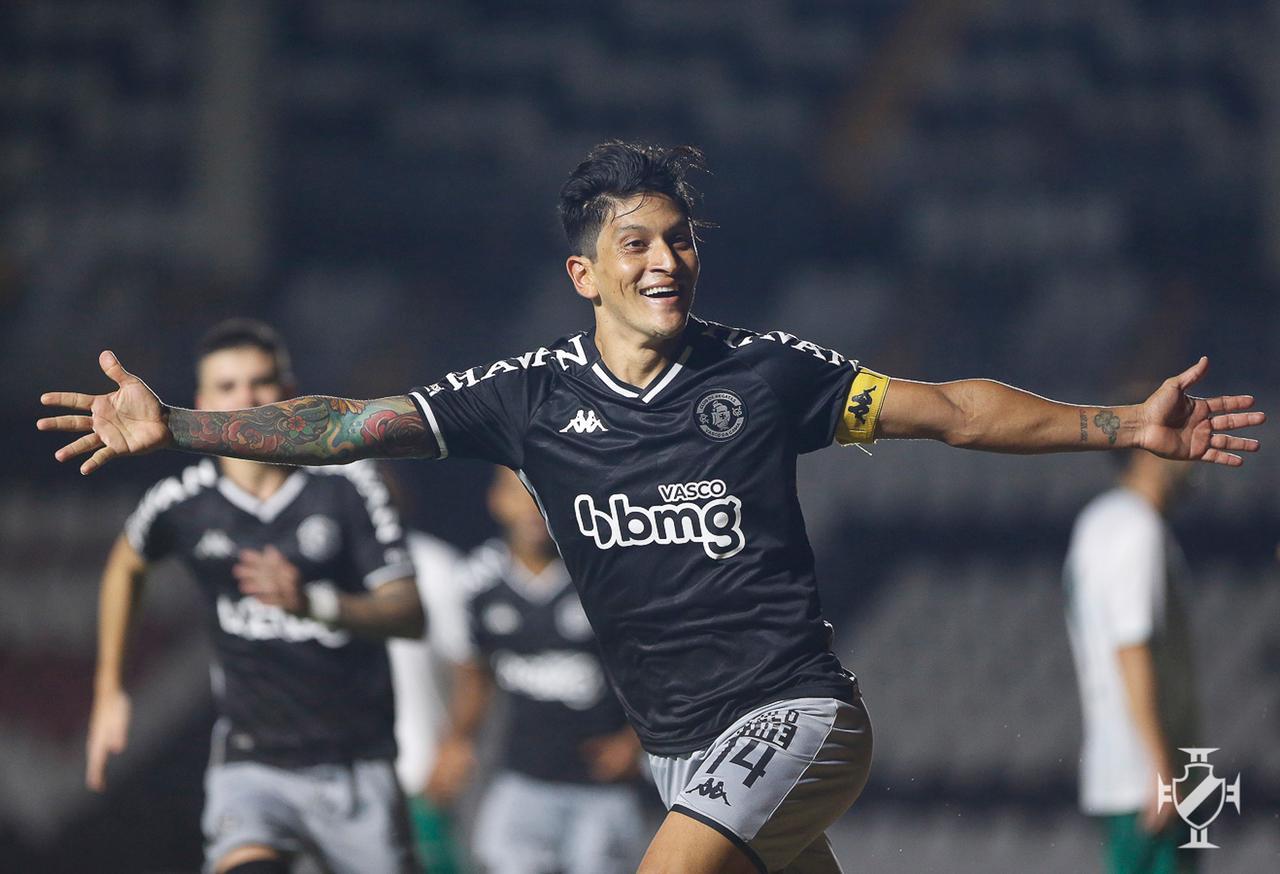 Cano comemora gol sobre o Boavista pela Copa do Brasil
