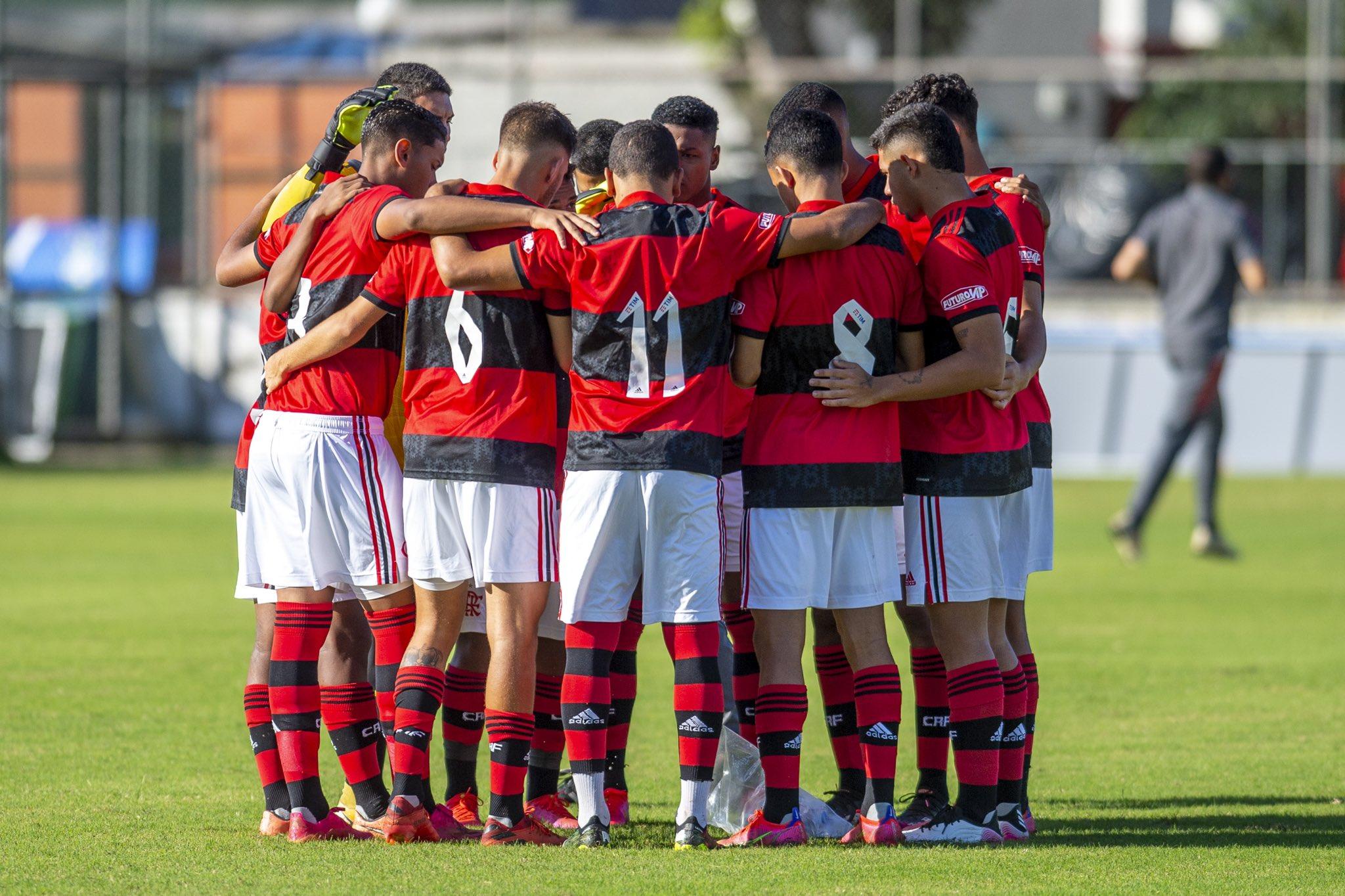 Equipe sub-17 do Flamengo