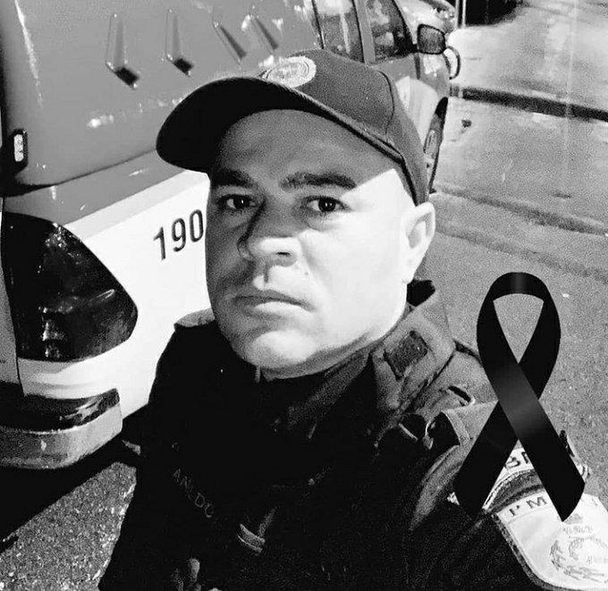 Imagem de um policial militar