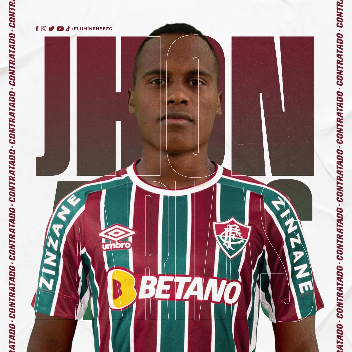 Fluminense anuncia a contratação do meia colombiano Jhon Arias