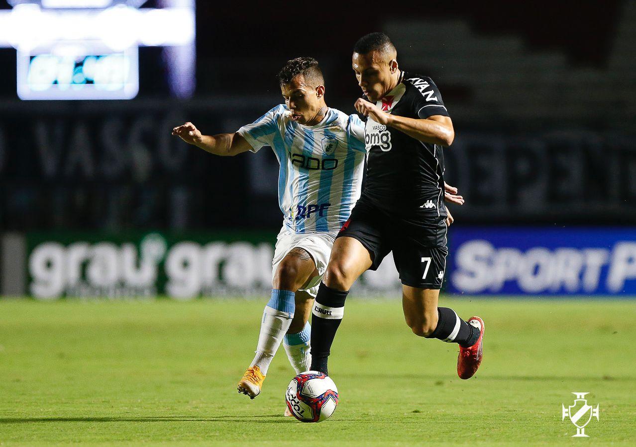 Vasco perde de virada para o Londrina, por 2 a 1, pela Série B