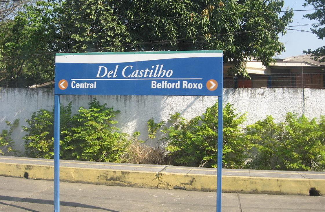 Estação trem Del Castilho