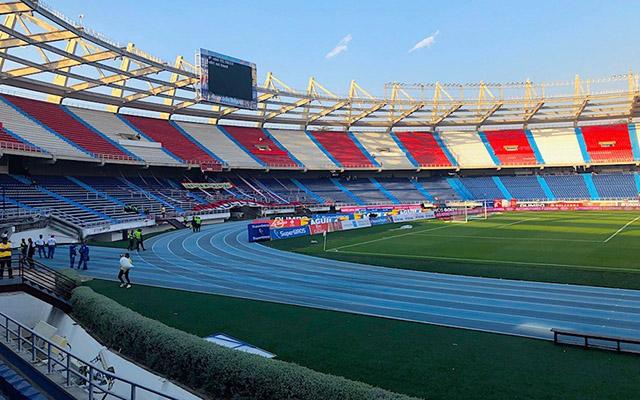 Foto de parte do estádio Metropolitanos em Barranquilla