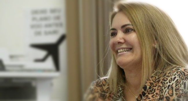 Ex-mulher de Bolsonaro