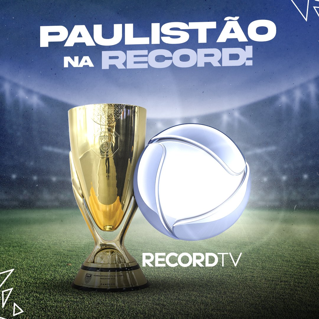 Paulistão na Record TV