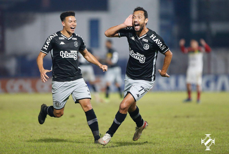 Nenê marca, de voleio, e garante vitória do Vasco por 1 a 0 sobre o Brusque pela Série B