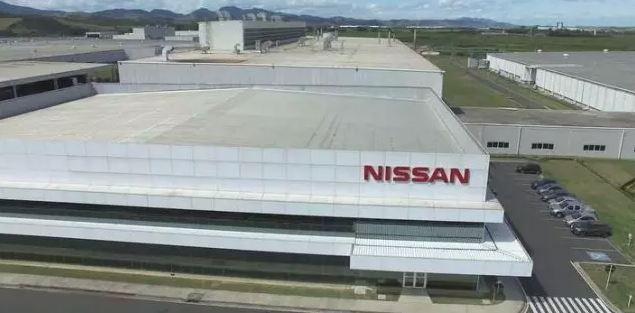 Fábrica da Nissan no RJ