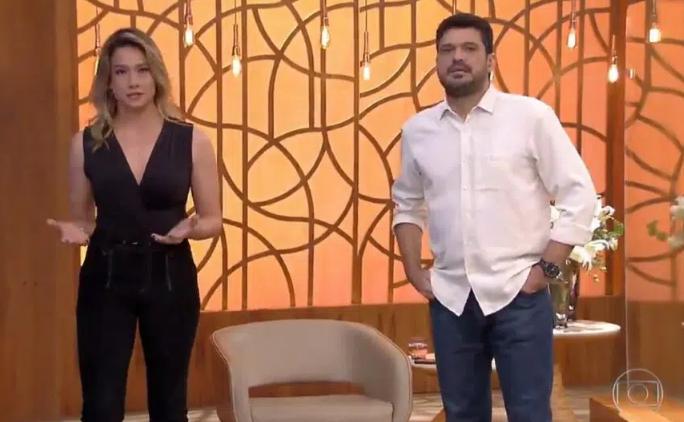 Fernanda Gentil apresentou programa no lugar de Fátima Bernardes