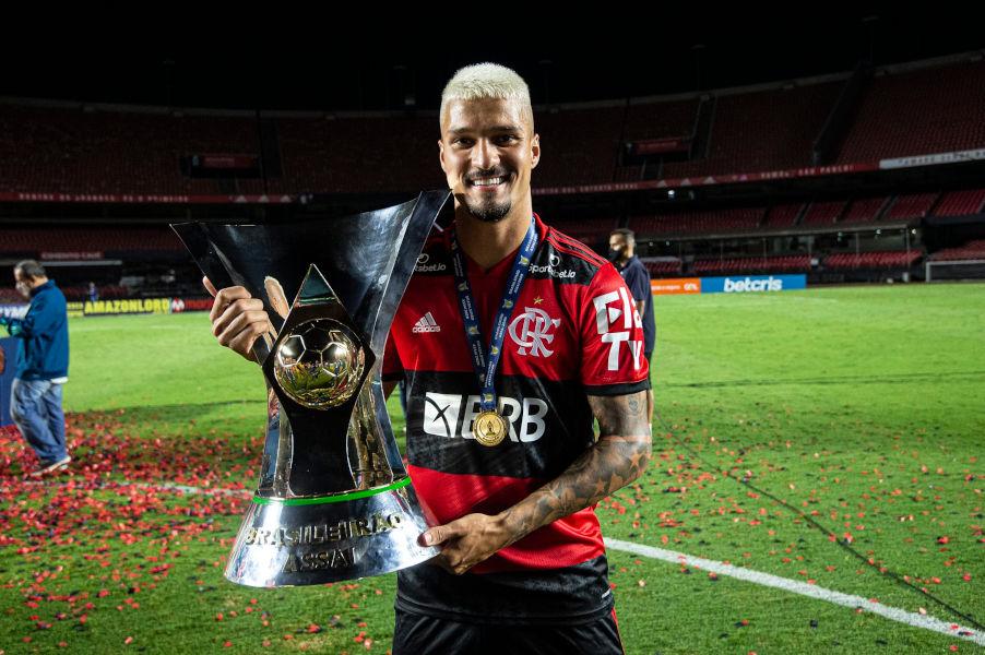 Thuler campeão com o Flamengo