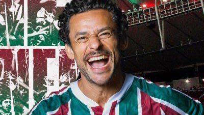 Fred sorrindo num post do Fluminense