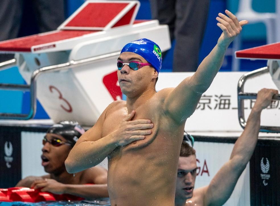 Gabriel Bandeira faturou o ouro em Tóquio