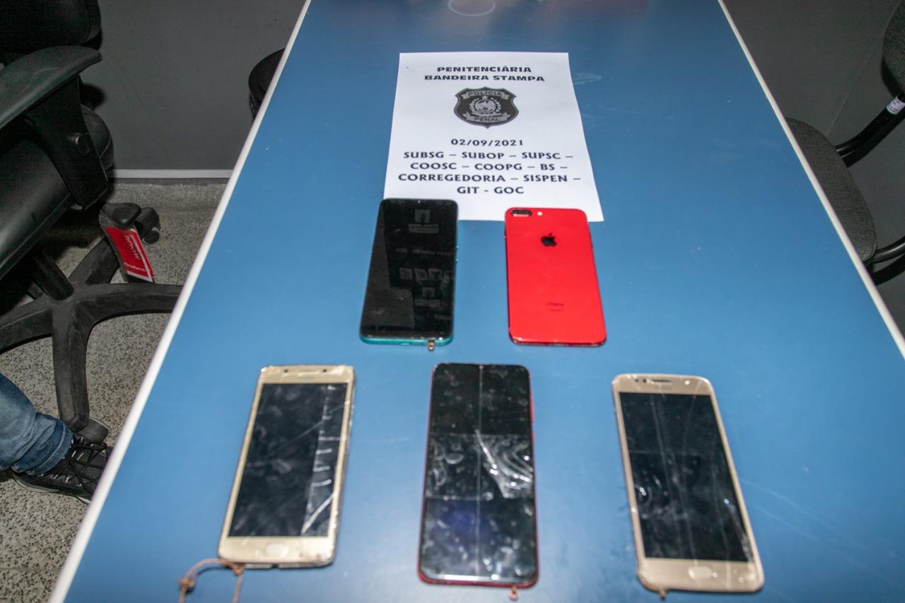celulares apreendidos seap